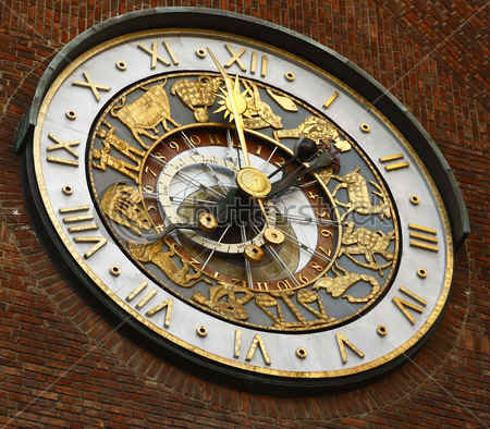 The Astrological Clock of Oslo Town Hall.